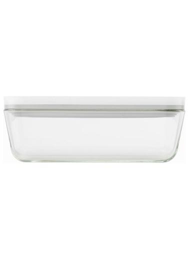 Zwilling Vakumlu Buzdolabı Saklama Kabı, Borosilikat Cam, Beyaz Renkli